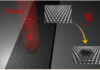 Creation of Magnetic Skyrmion Bubble Lattices by Ultrafast Laser in Ultrathin Films