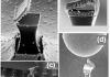 Nanotweezers and their remote actuation by magnetic fields