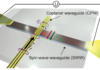 Detection of Short-Waved Spin Waves in Individual Microscopic Spin-Wave Waveguides Using the Inverse Spin Hall Effect