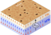 Room-Temperature Skyrmions at Zero Field in Exchange-Biased Ultrathin Films